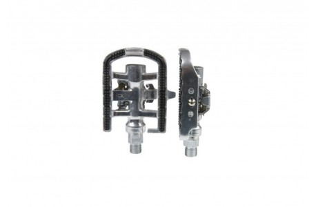 M-WAVE Half-Clipless Pedals